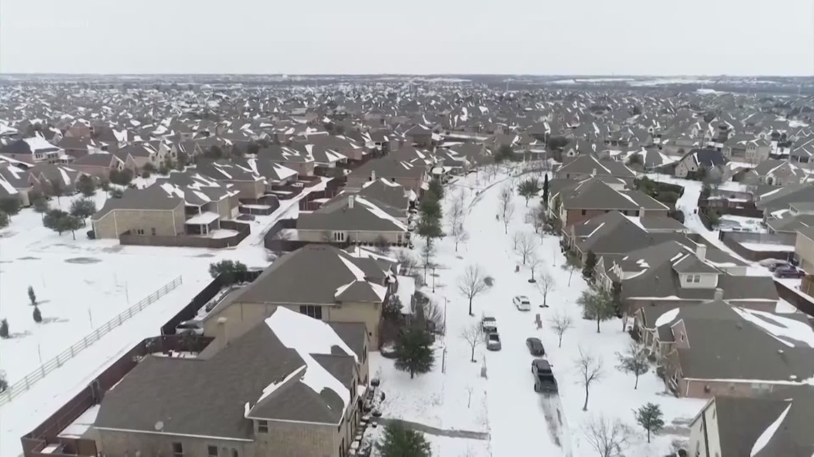 Biden declares major disaster in Texas as winter storm leaves thousands without power and dozens dead across the country