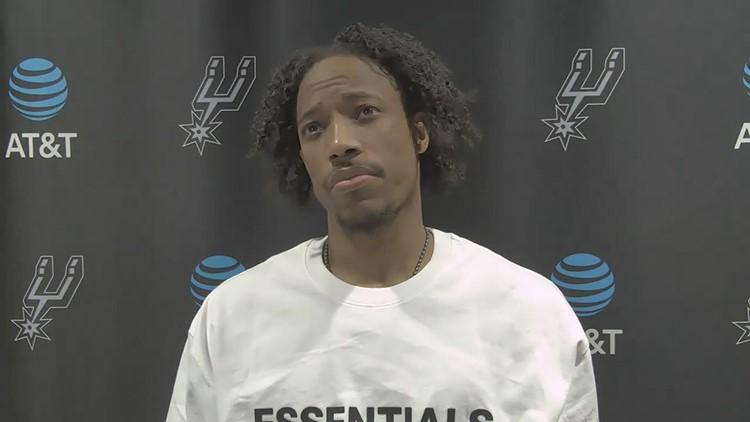 DeMar DeRozan reflects after Spurs fall to Raptors 117-112
