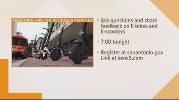 Teletown Hall: Dockless vehicles