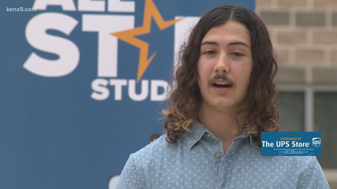 East Central ISD senior commended for eagerness in classroom, leadership on football field