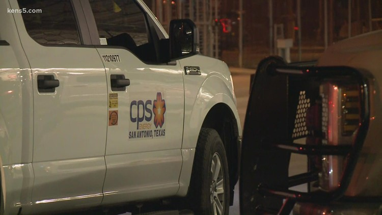 CPS Energy crews from San Antonio help those affected by Hurricane Nicholas