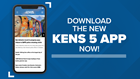 KENS 5 has a new app! Download it here...