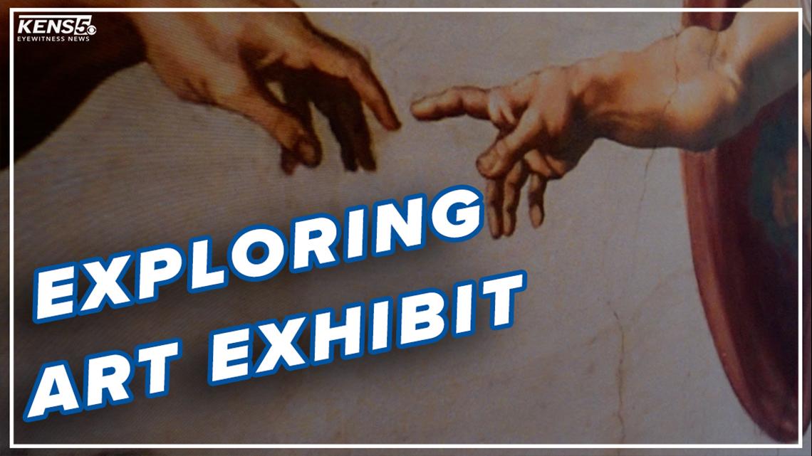 Exhibits recreates Michelangelo's Sistine Chapel masterpiece in San Antonio
