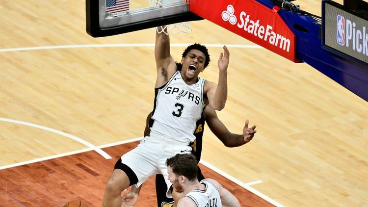 Spurs' Keldon Johnson added to Team USA Olympics roster