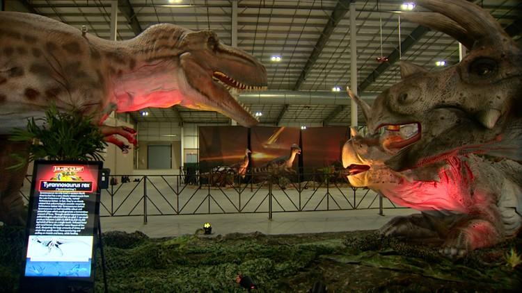Jurassic Quest returns to San Antonio
