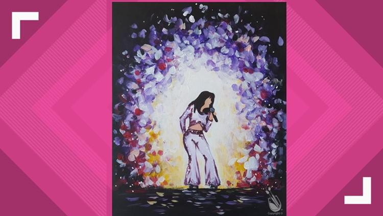 Selena painting