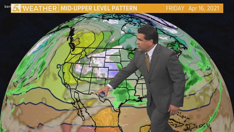 Rain chances Thursday and Friday   Forecast