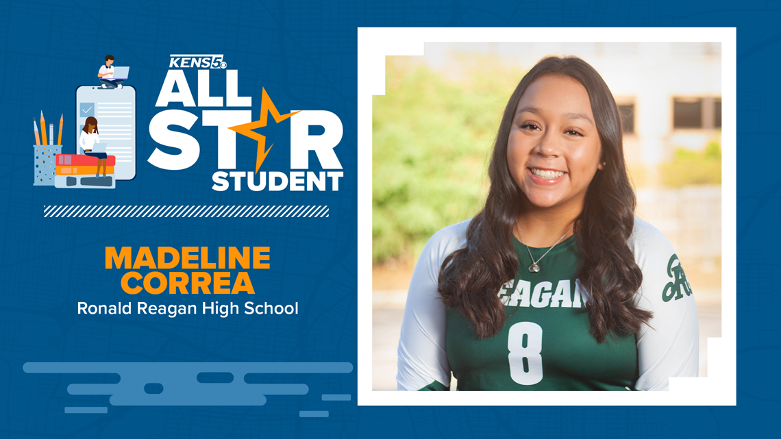 KENS 5 All-Star Student is a leader with a fiery determination to succeed