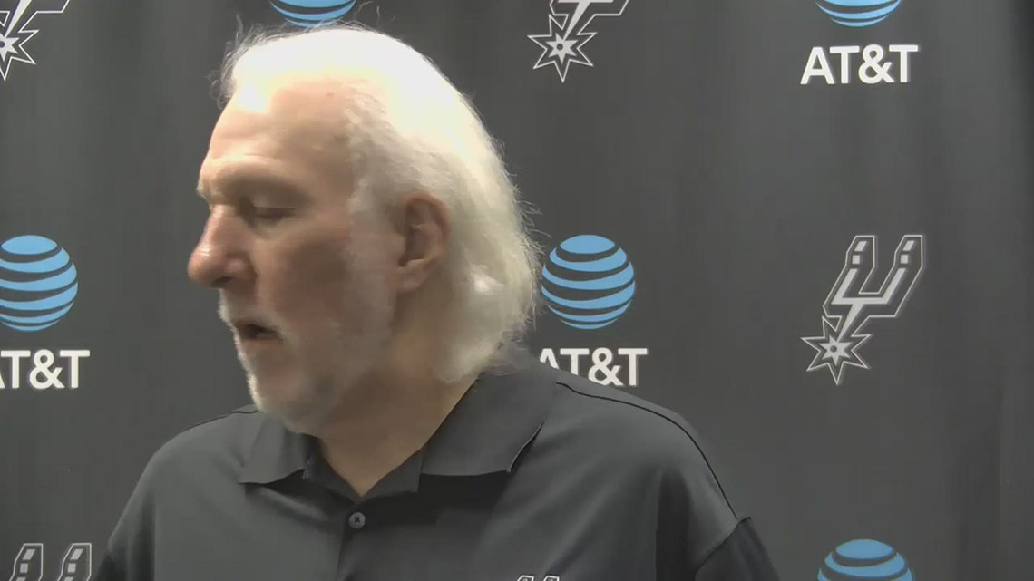 Popovich advocates for Proposition B and police accountability, declines to speak with San Antonio police union