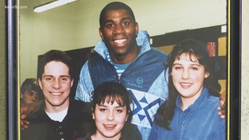 The time a young Vinnie Vinzetta met Magic Johnson
