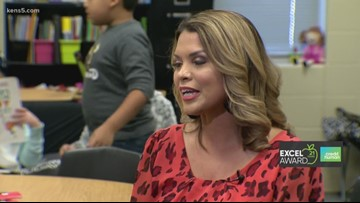 Medina Valley ISD teacher wins KENS 5 Credit Human EXCEL Award