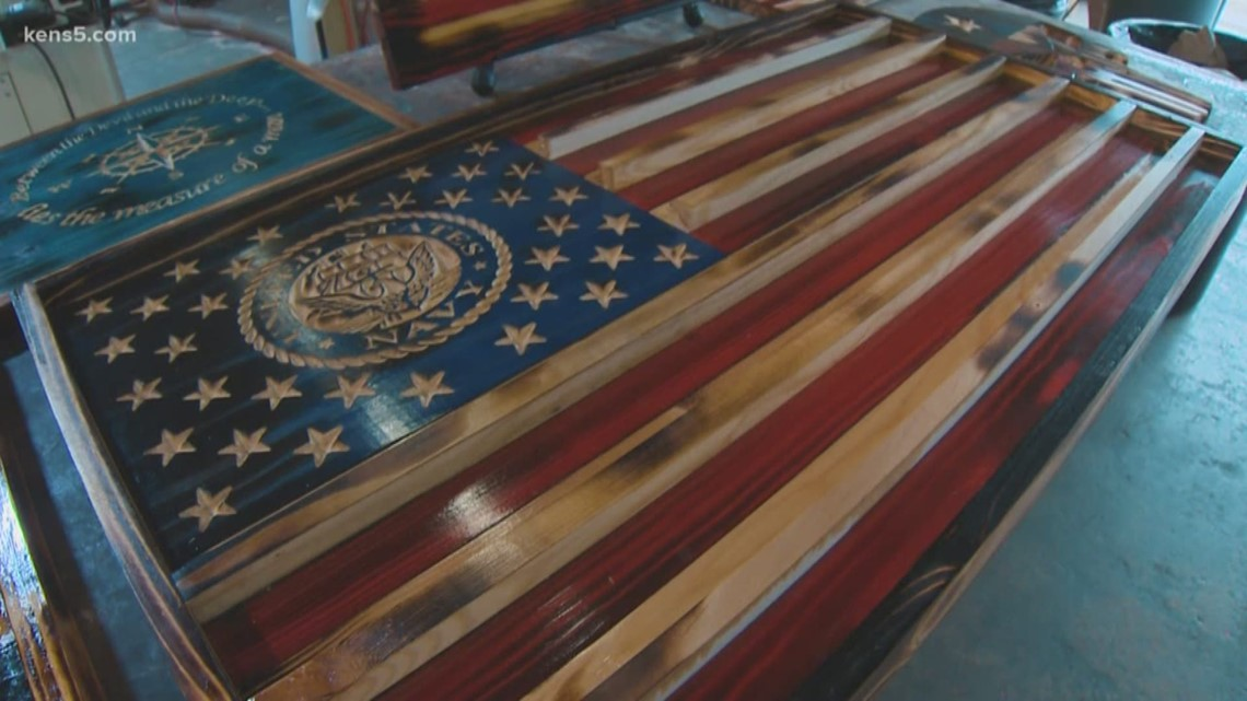 This Navy Veteran's craft becomes form of therapy | Made in SA