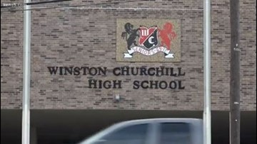 Security flaws uncovered at Churchill High School