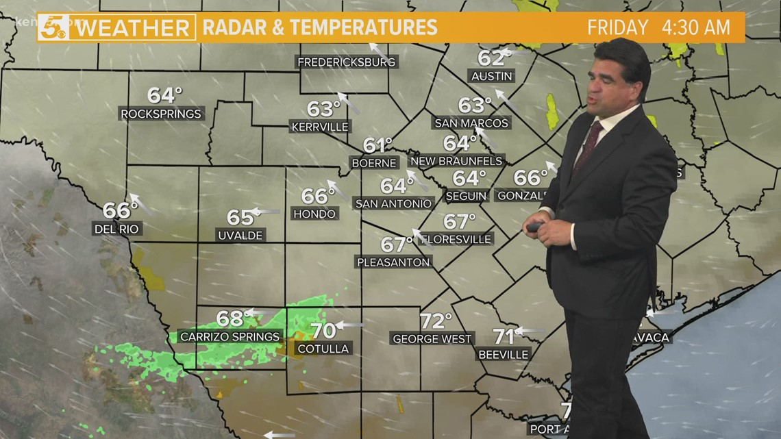 Drizzly, wet morning becomes warm afternoon Friday | Forecast