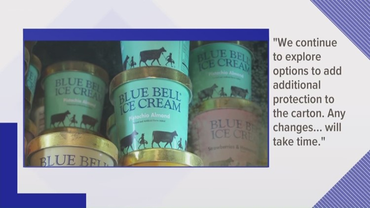 Blue Bell explores options to prevent another licking incident