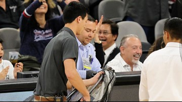 Not today: Bats appear again at Spurs game, thwarted by The Coyote