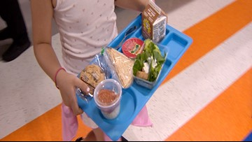 This NEISD elementary school sets the bar for eating healthy on campus
