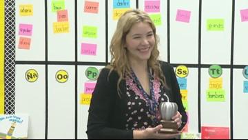 Dual language teacher Evelyn Bushart wins EXCEL Award for Harlandale ISD
