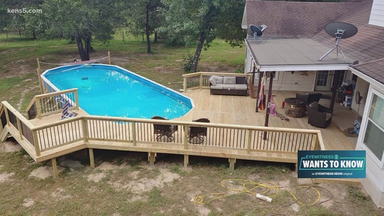 Dream deck built after contractor's promises fell through the floor