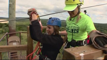 Texas Outdoors: Ziplining at 30 miles per hour through the Hill Country