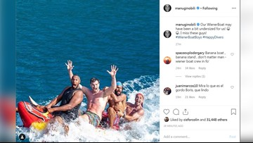 #WienerBoatBoys: Ginobili, Diaw share amazing photo from vacation with Spurs teammates