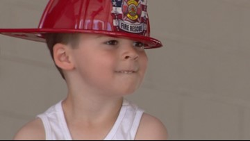3-year-old donates part of his birthday to firefighters | Kids Who Make SA Great