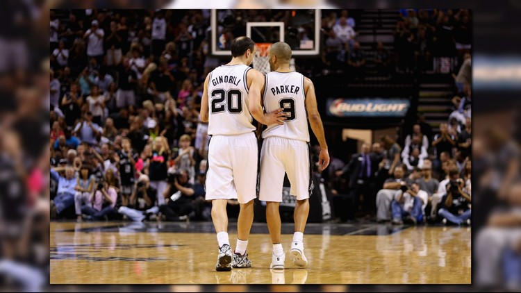 Spurs' Popovich wishes Tony Parker, Manu Ginobili were named to the NBA 75th Anniversary Team