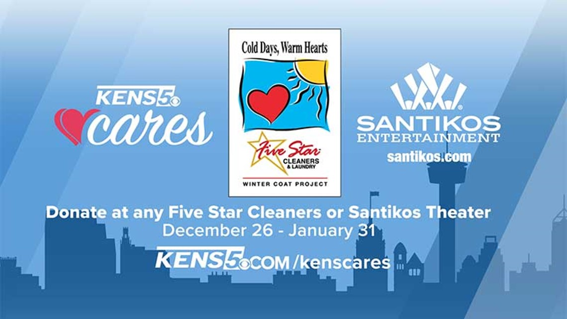 Donate a coat to keep SA warm this winter | KENS Cares