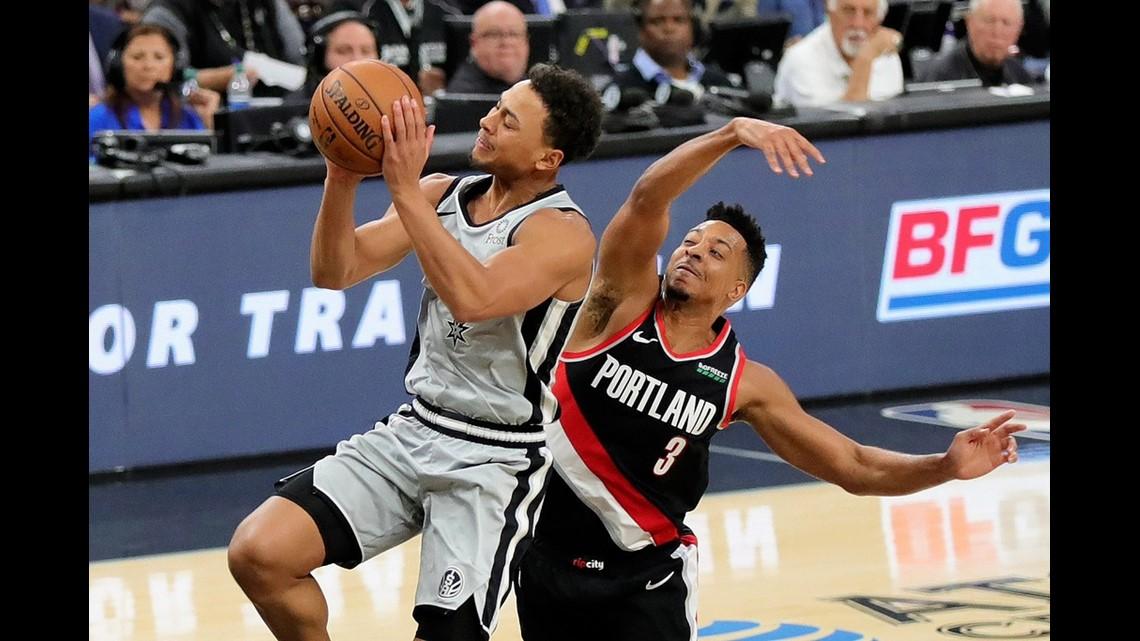 Spurs Loss To Trail Blazers Drop Fifth Straight Kens5 Com