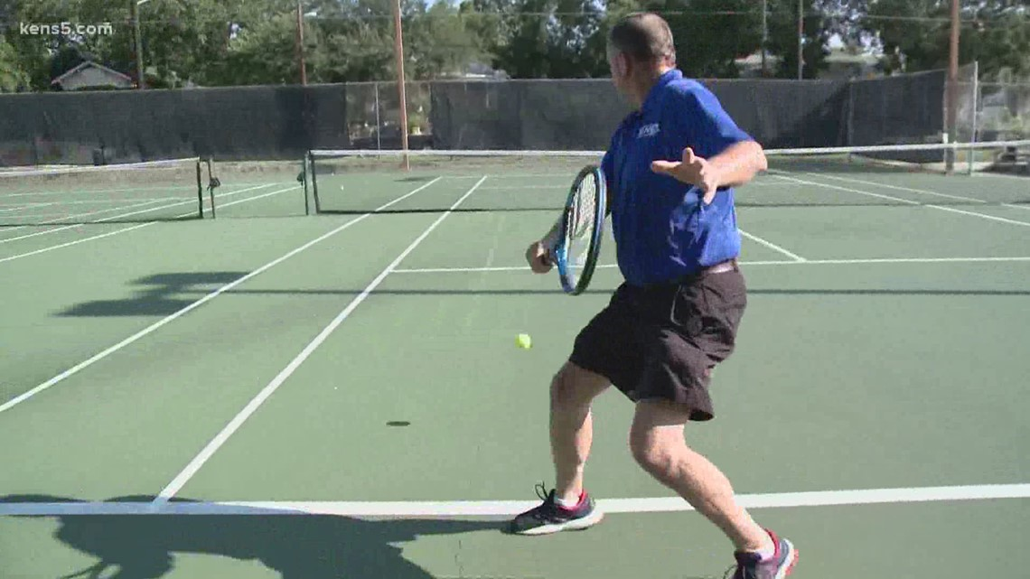 Texas Outdoors: Tennis Lessons