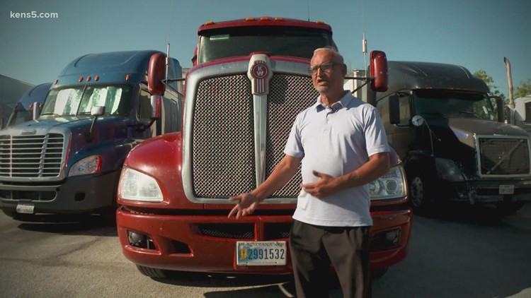 Amid shipping demands, trucking industry reckons with driver shortage