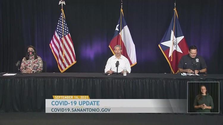 Latest coronavirus numbers and vaccine updates for San Antonio, Texas: Sept. 16, 2021