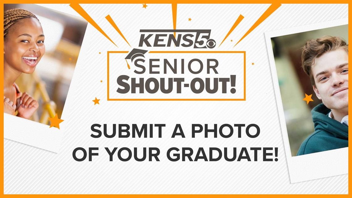 It's graduation time! Post your Senior Shout-Out to see it on KENS 5!