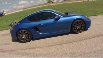 Texas Outdoors: Taking Driver's Ed...in a Porsche Carrera GTS!