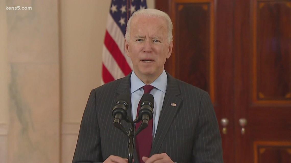 President Joe Biden to visit Texas in wake of historically devastating winter storms