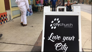 Downtown church helps homeless during pilot program