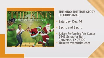 """Preview of """"The King: A True Story of Christmas"""""""
