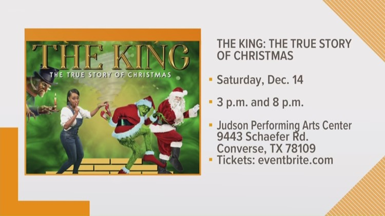 "Preview of ""The King: A True Story of Christmas"""