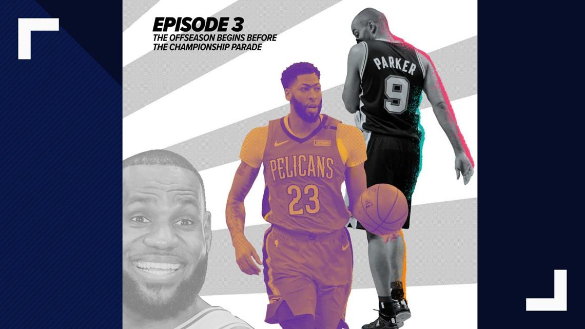 The NBA offseason starts with a bang - The Big Fundamental Podcast