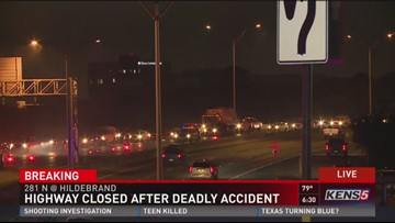 Motorcyclist dead in early-morning crash on Hwy  281 | kens5 com
