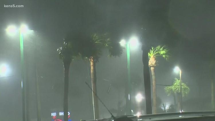 Tropical Storm Nicholas hits Galveston, pushing water over seawall