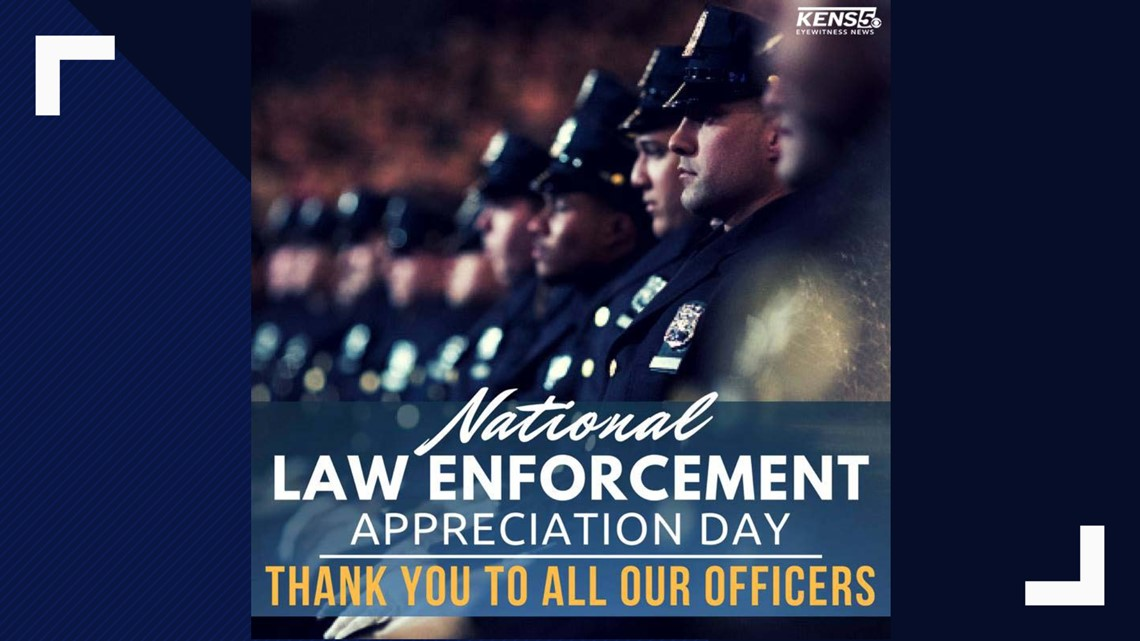 Kens 5 Thanks Law Enforcement For National Law Enforcement