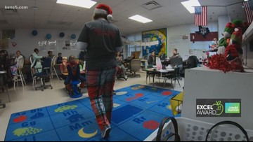 EXCEL Award Surprise at Watts Elementary