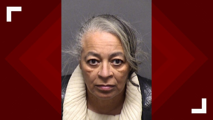 Linda Collier Mason in her Bexar County booking image