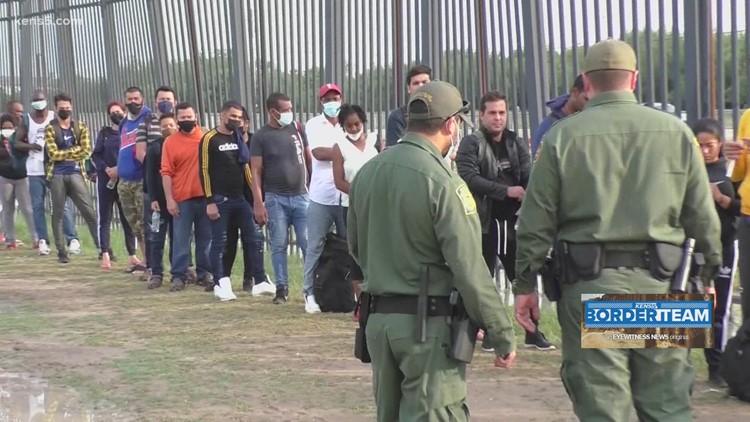 Del Rio Border Patrol overwhelmed by migrants arriving at Texas-Mexico border