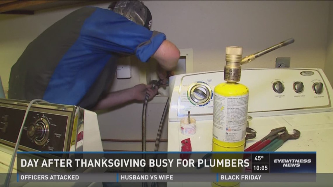 Friday after Thanksgiving among busiest for plumbers