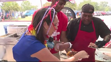 Brisket, elotes and family fun at San Antonio's Fourth of July party