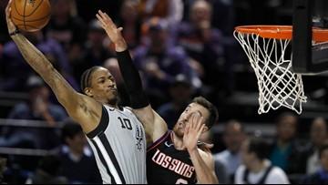 HIGHLIGHTS: Spurs defeat Suns, 121-119 in OT