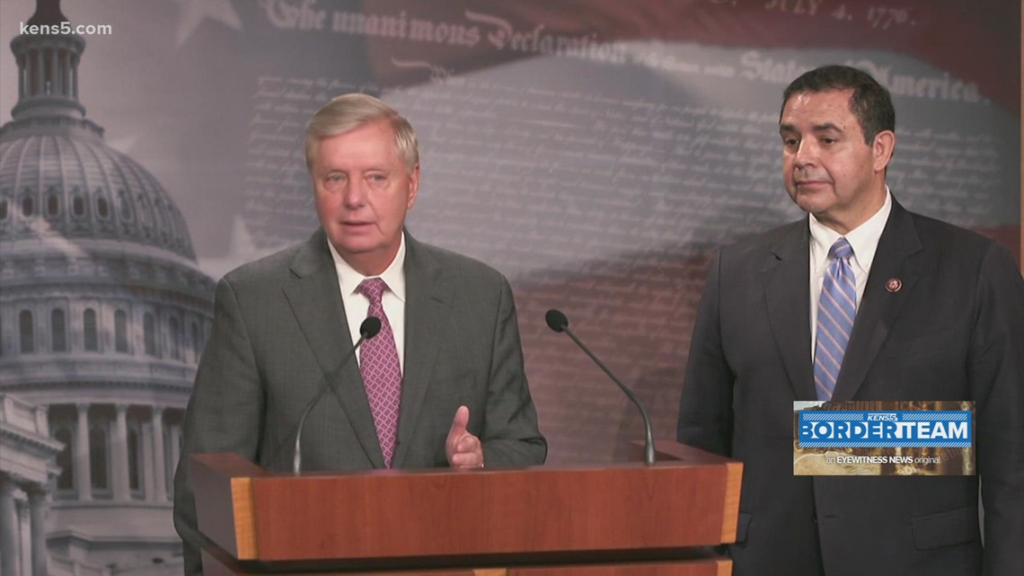 Sens. Henry Cuellar and Lindsey Graham submit bipartisan bid for special position to oversee border situation