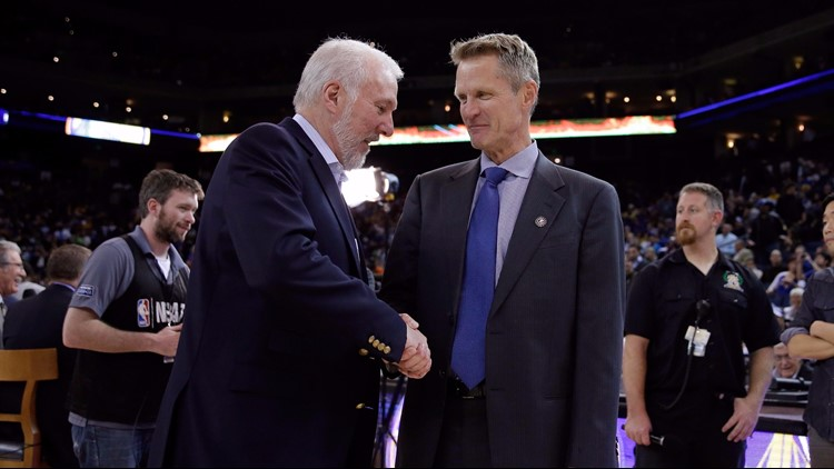 Steve Kerr sees gold medal as the perfect way to cap Gregg Popovich's coaching career